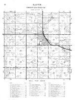 Slayton Township, Lime Creek, Beaver Creek, Murray County 1961