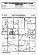 Map Image 010, Murray County 1992