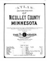 Title Page, Nicollet County 1913
