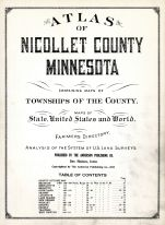 Title Page, Nicollet County 1927