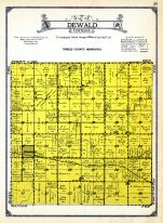 Dewald Township, Nobles County 1926 Anderson