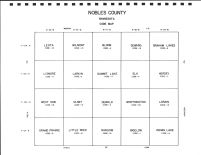 Nobles County Code Map, Nobles County 1998