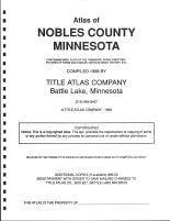 Title Page, Nobles County 1998