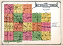 County Map, Olmsted County 1928