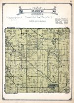 Marion Township, Olmsted County 1928