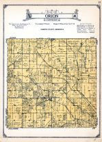 Orion Township, Cummingsville, Olmsted County 1928
