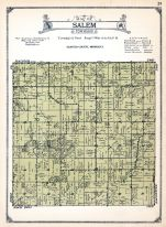 Salem Township, Olmsted County 1928