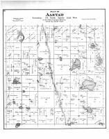 Aastad Township, Mud Lake, Otter Tail County 1884