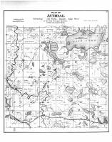 Aurdal Township, Fish Lake, Otter Tail County 1884