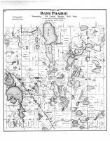 Dane Prairie Township, Wall Lake, Otter Tail County 1884
