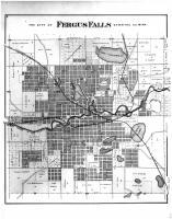 Fergus Falls, Otter Tail County 1884