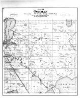 Gorman Township, Johnson Station, Luce PO, Otter Tail County 1884