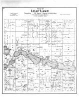 Leaf Lake Township, East Leaf Lake, Otter Tail County 1884