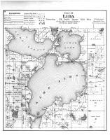 Lida Township, Lake Lida, Otter Tail County 1884