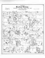 Maple Wood Township, Lake Lida, Otter Tail County 1884