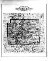 Otter Tail County Outline Map, Otter Tail County 1884
