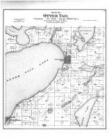 Otter Tail Township, Otter Tail City, Balmoral PO, Otter Tail County 1884