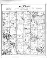 Scambler Township, Pelican Lake, Otter Tail County 1884