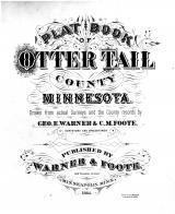 Title Page, Otter Tail County 1884