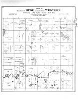 West Part of Buse & North Part of Western Townships, Otter Tail County 1884