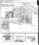 Battle Lake, Leafside, Elizabeth, Luce, Dalton - Left, Otter Tail County 1912
