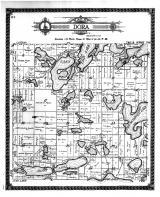 Dora Township, Spirit Lake, Otter Tail County 1912