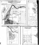Fergus Falls - East, Mill Park, Richville, Vergas, Dopelius, Nirvana - Left, Otter Tail County 1912