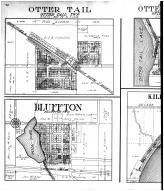Otter Tail, Bluffton, Killarney Beach, Lake Mason, Provan Beach - Left, Otter Tail County 1912