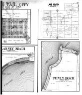 Otter Tail, Bluffton, Killarney Beach, Lake Mason, Provan Beach - Right, Otter Tail County 1912