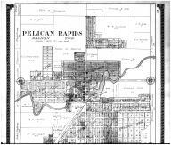 Pelican Rapids - Above, Otter Tail County 1912