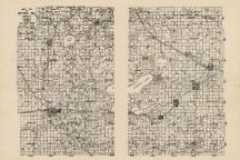 County Map, Otter Tail County 1953