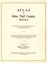 Title Page, Otter Tail County 1953