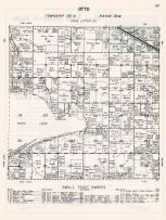 Otto Township, Otter Tail County 1960