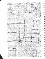 County Map 1, Otter Tail County 1974