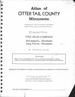 Title Page, Otter Tail County 1974