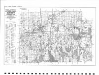 County Map 1, Otter Tail County 1982