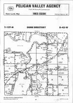 Map Image 034, Otter Tail County 1992