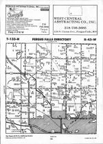 Map Image 052, Otter Tail County 1992