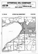 Map Image 092, Otter Tail County 1992