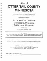 Title Page, Otter Tail County 1993