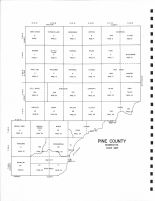 Index Map, Pine County 1972