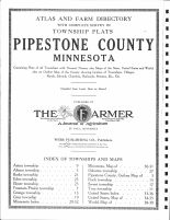 Title Page, Pipestone County 1914