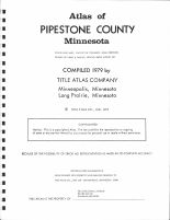 Title Page, Pipestone County 1979
