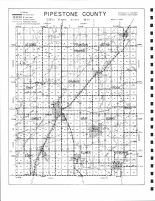 County Map, Pipestone County 1989