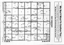 Map Image 001, Pipestone County 1992