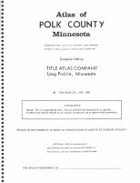 Title Page, Polk County 1982