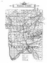 Ramsey County Map, Ramsey County 1911c