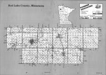 Index Map, Red Lake County 1992