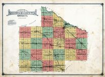 County Map, Redwood County 1914