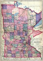 State Map, Redwood County 1914